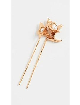 pearl-flower-hair-pin by oscar-de-la-renta