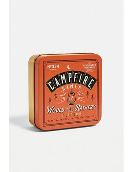 campfire-games:-would-you-rather-edition by gentlemens-hardware