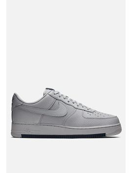Nike Air Force 1 '07 1   Wolf Grey / Obsidian / Wolf Grey by Nike