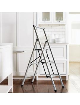 Ultralight Slimline 3 Step Ladder by Frontgate