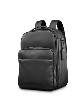 Samsonite Mens Leather Classic Traditional Backpack by Samsonite