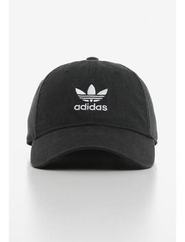 Adicolour  Washed Cap   Black by Adidas Originals
