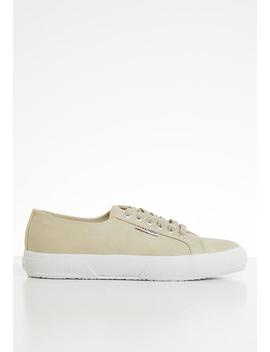 2750 Nubuck Lo   Neutral by Superga