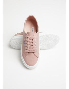 2750 Nubuck Lo   Pink by Superga