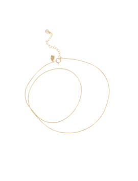 Circle Back Anklet by Mejuri
