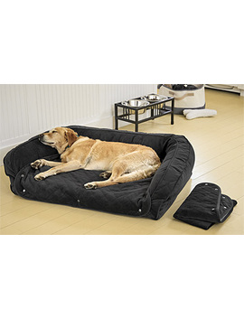 Orvis Memory Foam Bolster Dog Bed With Snap Off Pads Cover by Orvis