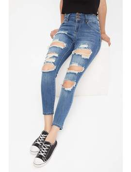 High Rise Olivia Push Up Jegging by Bluenotes