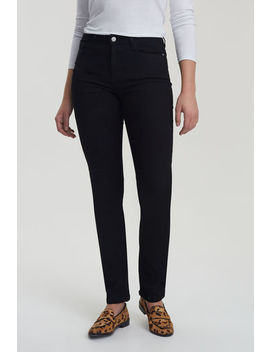 Slim Leg Mid Rise Jean by Long Tall Sally
