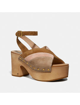 Nettie Clog Sandal by Coach