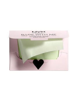 Bare With Me Cannabis Sativa Seed Oil Blotting Paper by Nyx Cosmetics