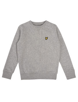 Boys Crew Neck Sweatshirt by Lyle & Scott