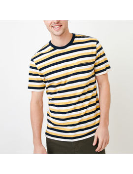 Striped Pocket T Shirt Striped Pocket T Shirt by Roots