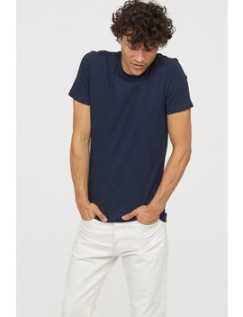 3 Pack Slim Fit T Shirts by H&M