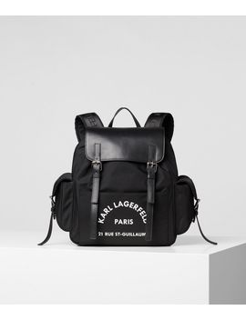 Rue St Guillaume Backpack by Karl Legerfeld