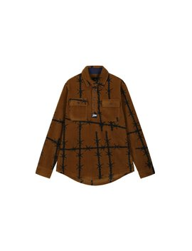 Patta Wire Fleece Overhead Shirt by Patta