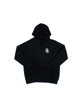 Raised Ll Logo Hooded Sweatshirt [Black] by The Legends League