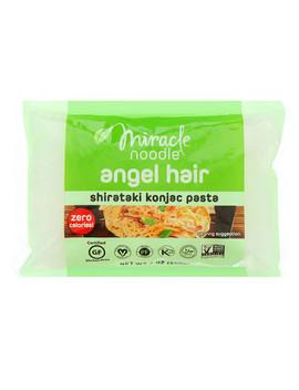 Miracle Noodle, Angel Hair, Shirataki Konjac Pasta, 7 Oz (200 G) by Miracle Noodle