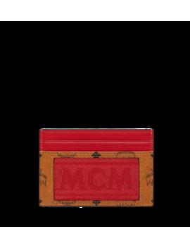 Card Case In Webbing Visetos by Mcm