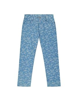 Pleasures Paisley Denim Pant by Pleasures