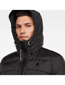 Motac Quilted Hooded Jacket by G Star