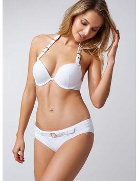 Buckle Padded Bikini Top by Bouxavenue