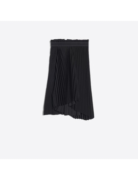 Fancy Pleated Skirt by Balenciaga
