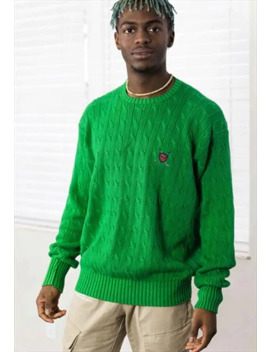 Vintage Polo Golf Ralph Lauren Jumper Logo 90s M 21.1 by Ralph Lauren
