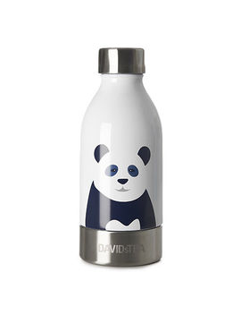 Panda Small Stainless Steel Bottle by Davi Ds Tea