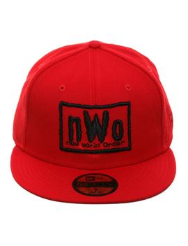 Wwe New Era 59 Fifty New World Order Hat   Red by Hat Club