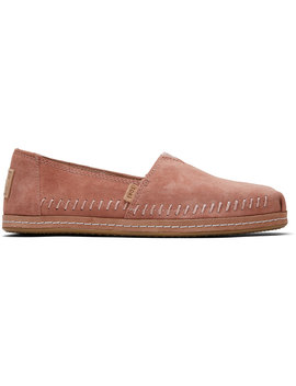 Sand Pink Suede Women's Classics by Toms