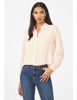 Lightweight Button Down Shirt by Justfab