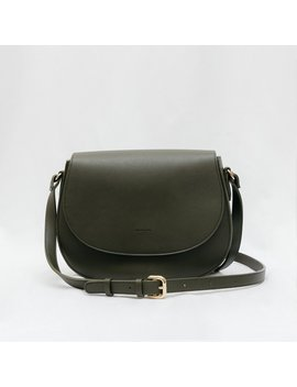 Morning Cross Body   Dark Green [Classic] [Sample Sale] by Angela Roi