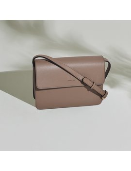Hamilton Cross Body   Mud Beige [Sample Sale] by Angela Roi