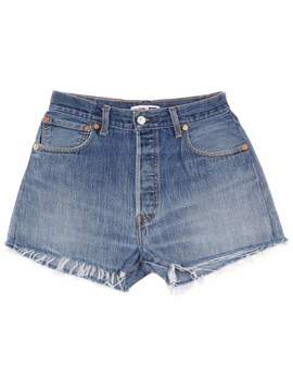 High Rise Relaxed Short                   No. 25 Hds1167200 by Re/Done