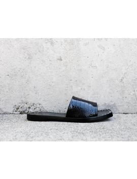 Jessa Square Toe Slip On Sandal by Freda Salvador