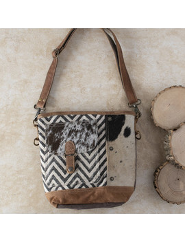 Patterned Hair On Crossbody by Rod's