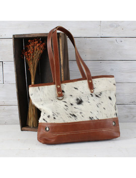 Leather And Hair On Handbag by Rod's