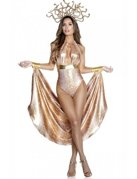 Sexy Gold Slither Costume by Ami Clubwear