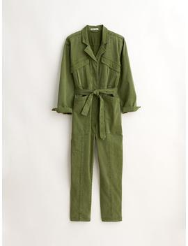 Expedition Jumpsuit In Washed Twill by Alex Mill
