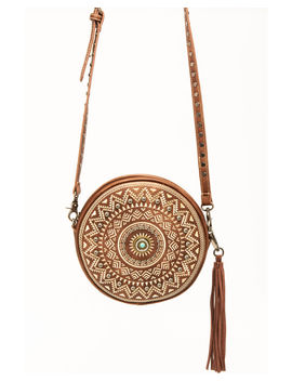 Shyanne Women's Aztec Studded Crossbody Handbag by Shyanne