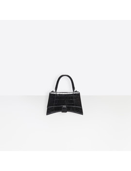 Hourglass Xs Top Handle Bag by Balenciaga