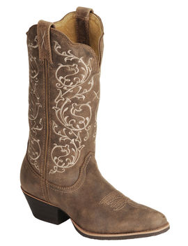 Twisted X Fancy Stitched Cowgirl Boots   Medium Toe by Twistedx