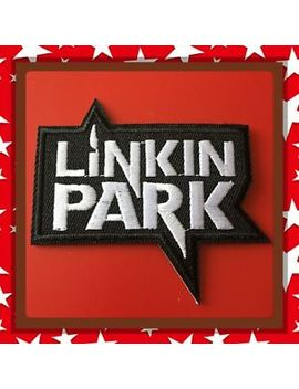 🇨🇦 Linkin Park Punk Metal Embroidered Patch  Sew On/Stick On Clothing/New 🇨🇦 by Unbranded