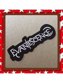 🇨🇦 Evanescence Punk  Metal   Embroidered Patch  Sew On/Stick On/New 🇨🇦 by Unbranded