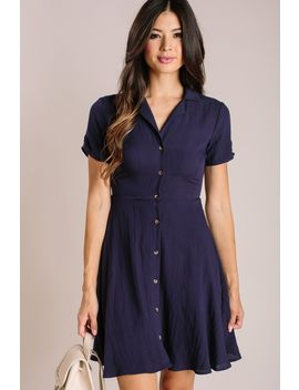 Maisie Collared Mini Dress by Morning Lavender