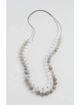 Tumbled Stones Layered Necklace by J.Jill
