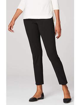 Wearever Forward Seam Slim Ankle Pants by J.Jill