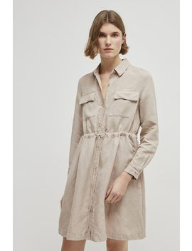 Briella Lyocell Shirt Dress by French Connection