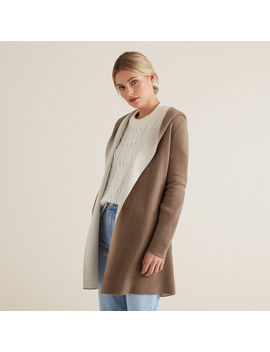 Hooded Cardigan by Seed Heritage