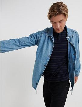 Denim Coaches Jacket by Lucky Brand